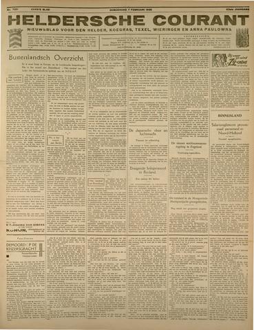 Heldersche Courant 1935-02-07
