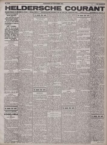 Heldersche Courant 1919-09-25