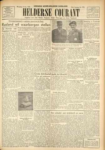 Heldersche Courant 1948-10-13