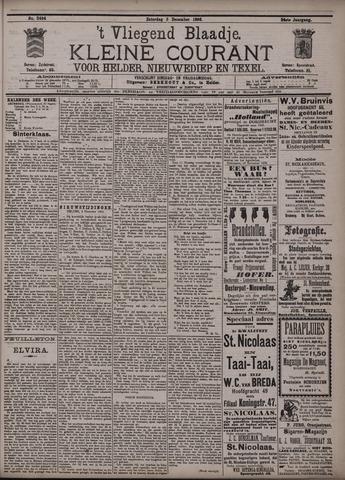 Vliegend blaadje : nieuws- en advertentiebode voor Den Helder 1896-12-05