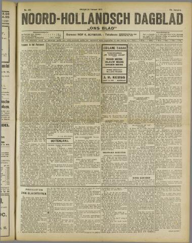 Ons Blad : katholiek nieuwsblad voor N-H 1922-02-24