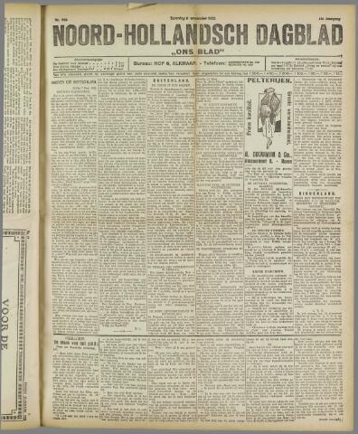 Ons Blad : katholiek nieuwsblad voor N-H 1922-11-11