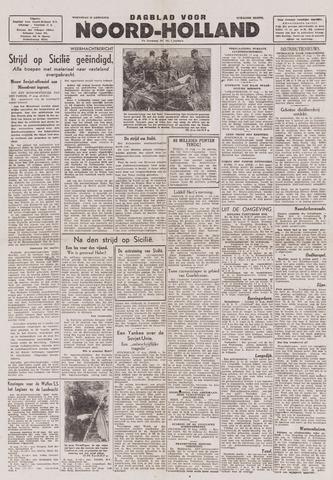 Dagblad Noord-Holland, Schager editie 1943-08-18
