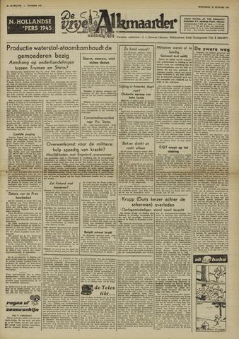 De Vrije Alkmaarder 1950-01-18