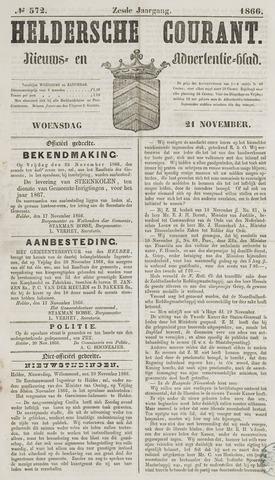 Heldersche Courant 1866-11-21