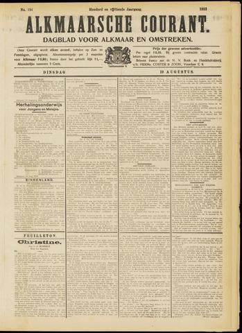 Alkmaarsche Courant 1913-08-19