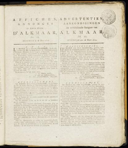 Alkmaarsche Courant 1812-03-18