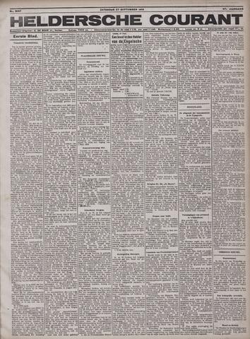 Heldersche Courant 1919-09-27