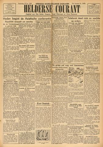 Heldersche Courant 1949-01-20