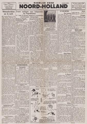 Dagblad Noord-Holland, Schager editie 1944-02-01