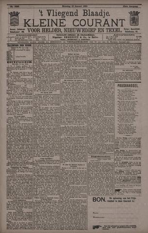 Vliegend blaadje : nieuws- en advertentiebode voor Den Helder 1895-01-12