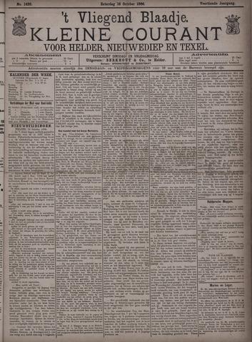 Vliegend blaadje : nieuws- en advertentiebode voor Den Helder 1886-10-16