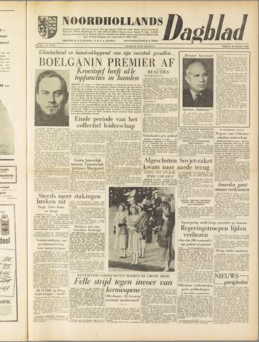 Noordhollands Dagblad : dagblad voor Alkmaar en omgeving 1958-03-28