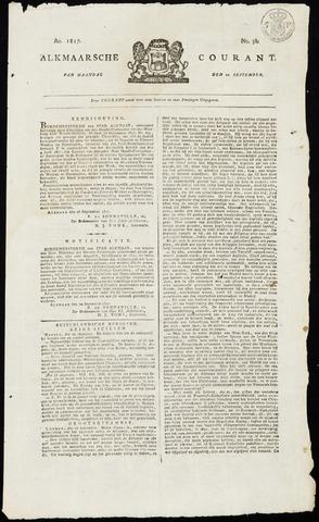 Alkmaarsche Courant 1817-09-22