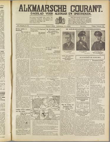 Alkmaarsche Courant 1941-02-07