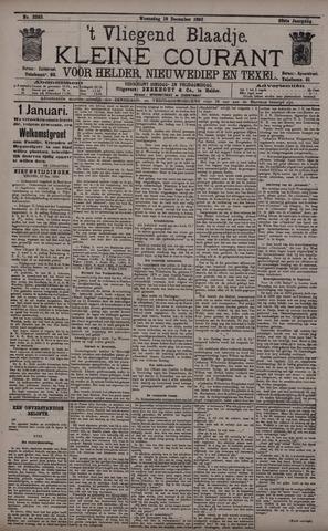 Vliegend blaadje : nieuws- en advertentiebode voor Den Helder 1895-12-18