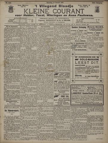 Vliegend blaadje : nieuws- en advertentiebode voor Den Helder 1907-01-12