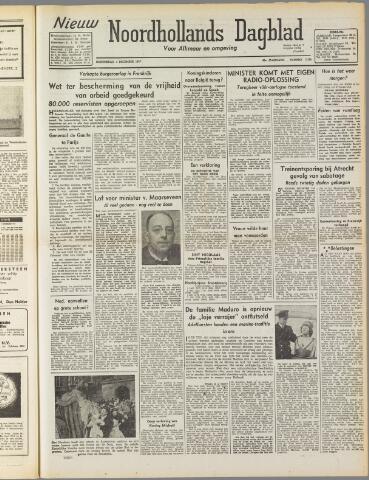 Nieuw Noordhollandsch Dagblad : voor Alkmaar en omgeving 1947-12-04