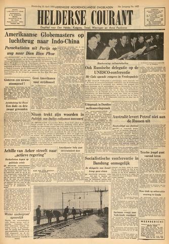 Heldersche Courant 1954-04-22
