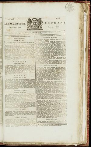 Alkmaarsche Courant 1825-04-25