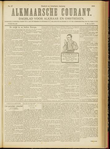 Alkmaarsche Courant 1918-03-08