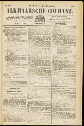 Alkmaarsche Courant 1903-12-11