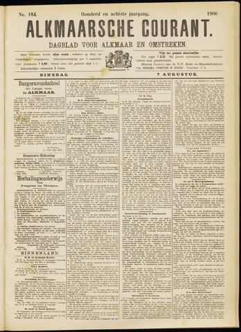 Alkmaarsche Courant 1906-08-07