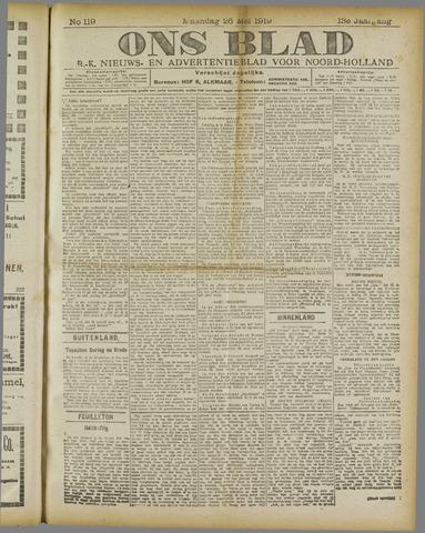Ons Blad : katholiek nieuwsblad voor N-H 1919-05-26