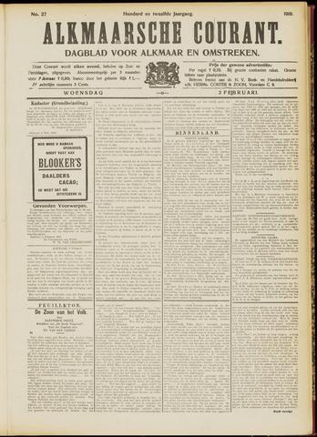 Alkmaarsche Courant 1910-02-02