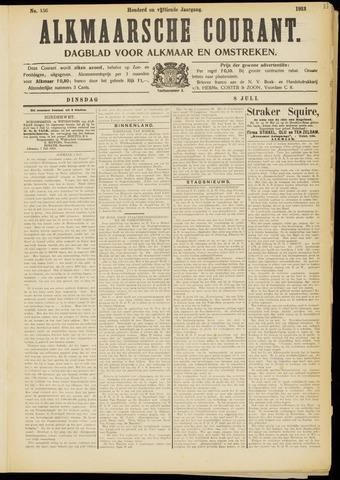 Alkmaarsche Courant 1913-07-08