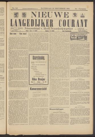 Nieuwe Langedijker Courant 1932-12-10