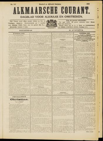 Alkmaarsche Courant 1913-08-14