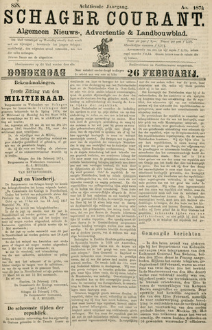 Schager Courant 1874-02-26