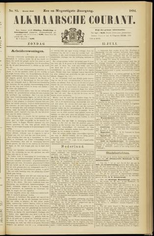 Alkmaarsche Courant 1894-07-15