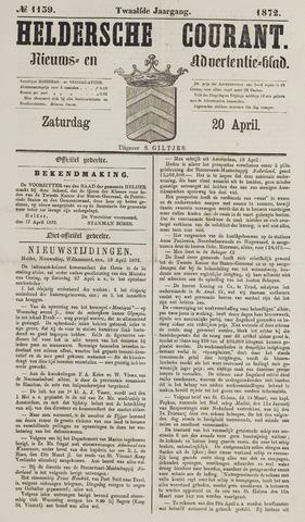 Heldersche Courant 1872-04-20