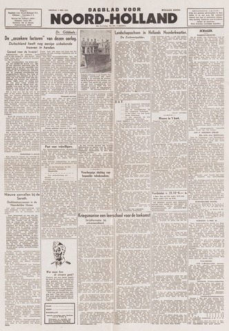Dagblad Noord-Holland, Schager editie 1944-05-05