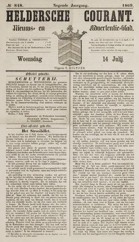 Heldersche Courant 1869-07-14