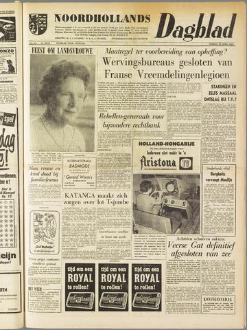 Noordhollands Dagblad : dagblad voor Alkmaar en omgeving 1961-04-28