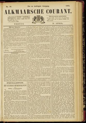 Alkmaarsche Courant 1884-04-25