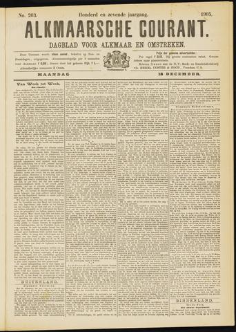 Alkmaarsche Courant 1905-12-18