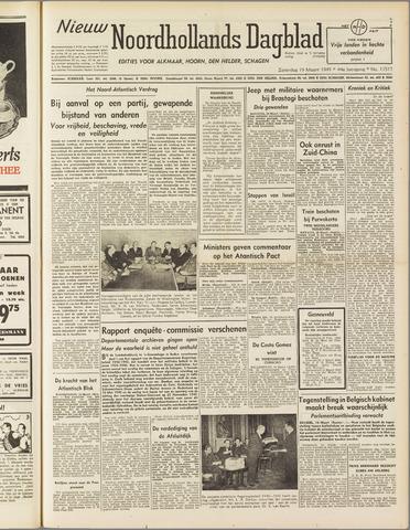 Nieuw Noordhollandsch Dagblad : voor Alkmaar en omgeving 1949-03-19