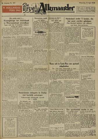 De Vrije Alkmaarder 1948-04-14