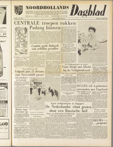 Noordhollands Dagblad : dagblad voor Alkmaar en omgeving 1958-04-18