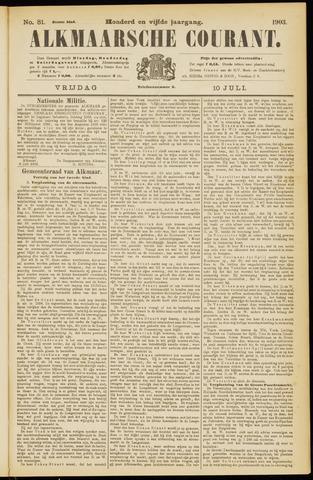 Alkmaarsche Courant 1903-07-10