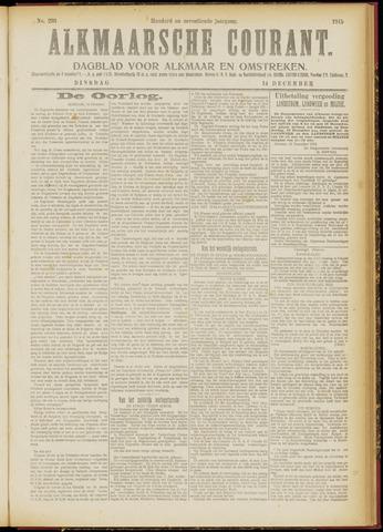 Alkmaarsche Courant 1915-12-14