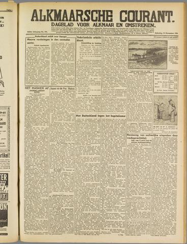 Alkmaarsche Courant 1941-11-22