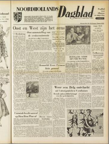 Noordhollands Dagblad : dagblad voor Alkmaar en omgeving 1954-05-04