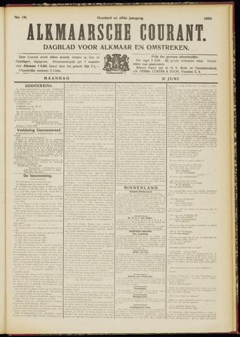 Alkmaarsche Courant 1909-06-21
