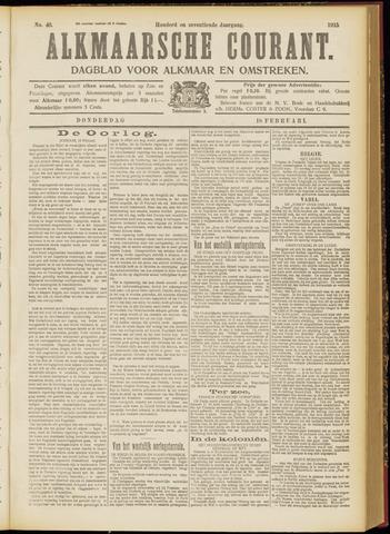 Alkmaarsche Courant 1915-02-18