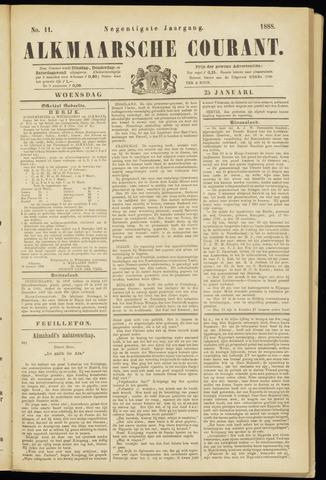 Alkmaarsche Courant 1888-01-25